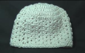 cluster v stitch hat