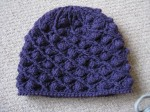 Artichoke hat in blue